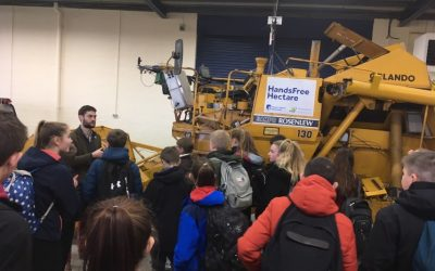 School Farming Society visits Harper Adams University