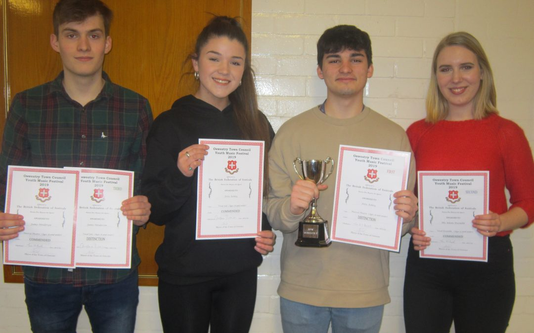 Musical Success at Oswestry Festival