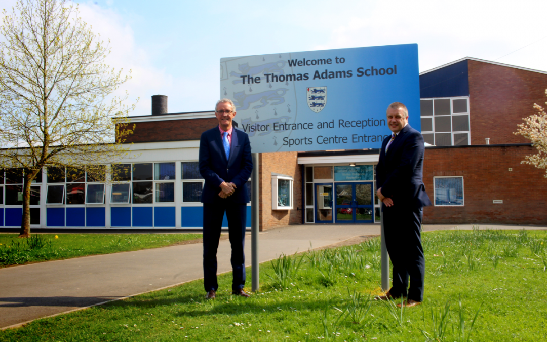 Thomas Adams to join The Priory School Trust