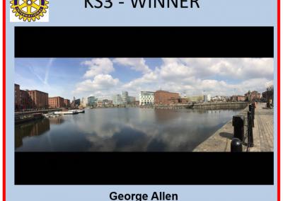 George Allen KS3 Winner