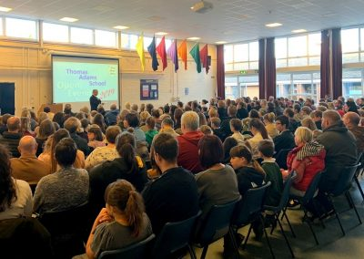 Headteacher Welcome Talk Open Evening