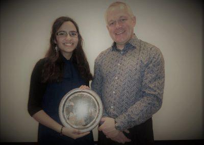 Annie Platt Salver for Mathematics Winner - Maya Balachandran