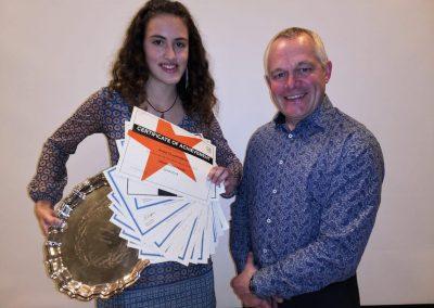 David Breeze Salver for Science Winner - Anna Cladingbowl