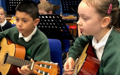 KS2 Primary Orchestra festive performance