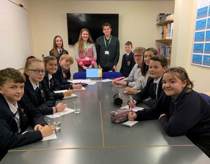 First Student Leadership Group Meeting takes place