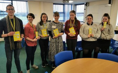 Local author 'Amy Beashel' visits library