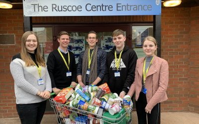 Sixth Form donate to Shrewsbury Ark charity