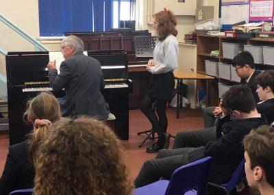Leonie Collins Piano masterclass