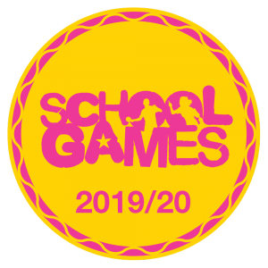 School Games badge 2019/20
