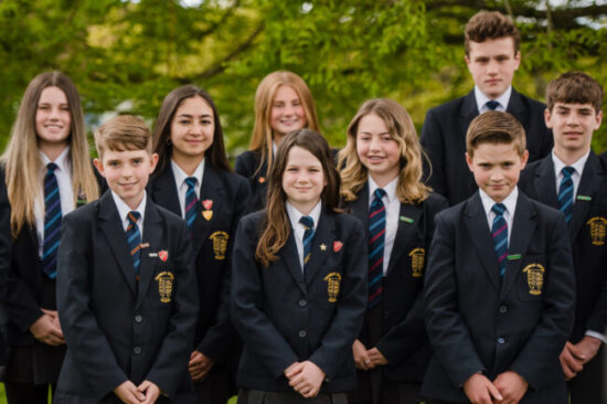 Thomas Adams School Students